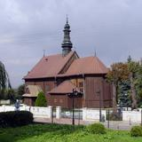 Image: The church of St. James the Apostle in Więcławice Stare